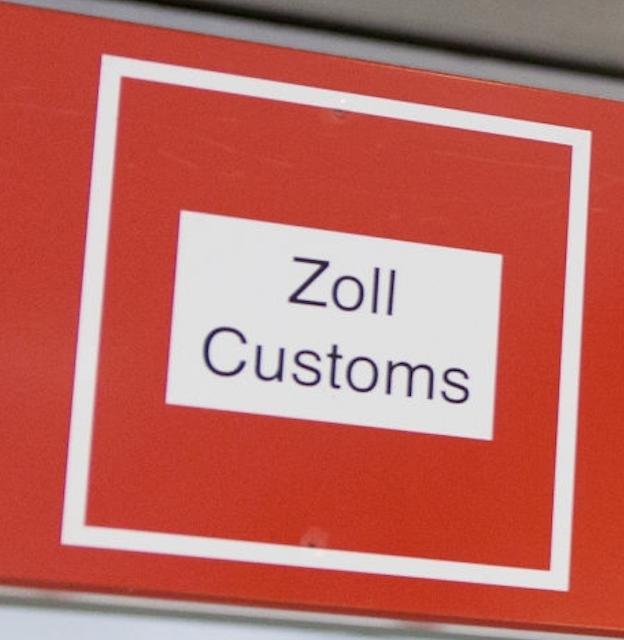 zoll customs amazon germany